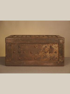 Baule in Ferro e Legno #1695