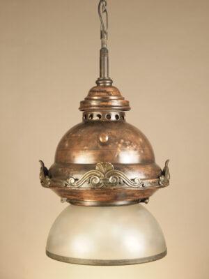 Lampada a Sospensione in Rame #1685