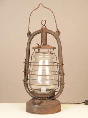 Lanterna in Ferro Elettrificata #3288