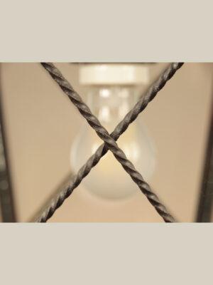 Lanterna a Sospensione in Ferro #3449