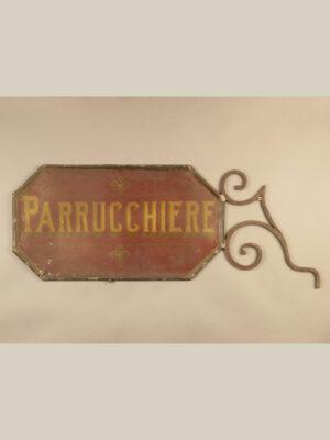 "Targa ""Parrucchiere"" #3597"