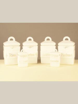 Set di Contenitori in Ceramica #3656