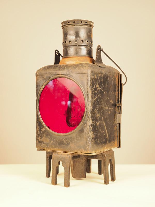 Lanterna Ferroviaria in Ferro #3847